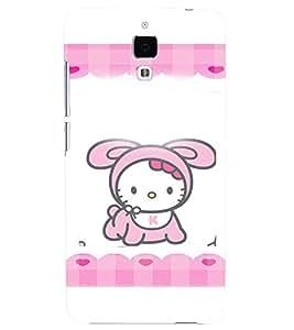Printvisa Animated Baby Kitty Back Case Cover for Xiaomi Redmi Mi4::Xiaomi Mi 4