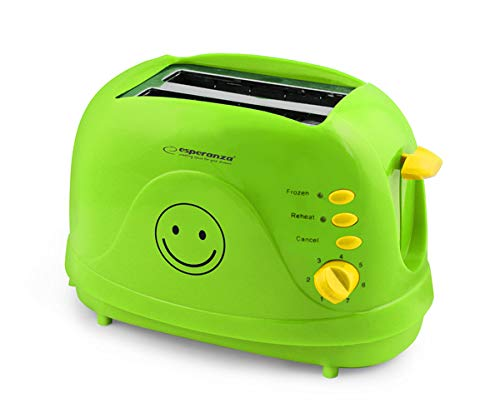 Esperanza EKT003 Toster Smiley PC Grün