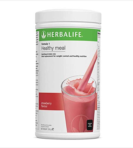STRAWBERRY NUTRITIONAL SHAKE MIX. HEALTHY MEAL FOR WEIGHTLOSS ()