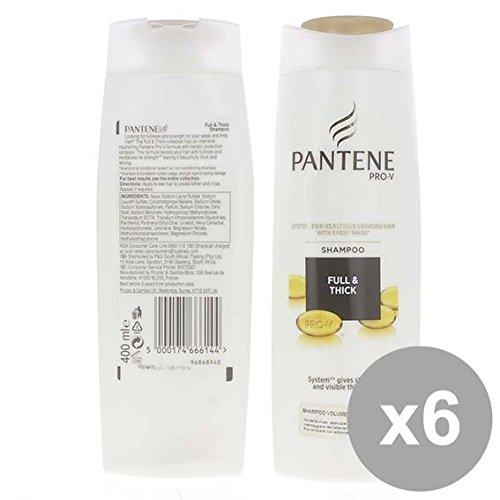Set 6 PANTENE Shampoo 400 Corpo E Volume Prodotti per capelli