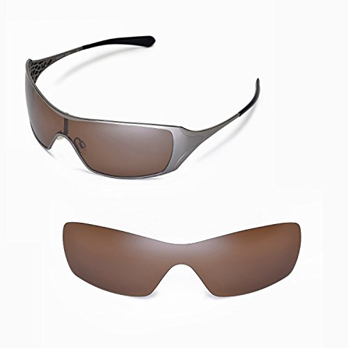 walleva-replacement-lenses-for-oakley-dart-sunglasses-multiple-options-brown-polarized