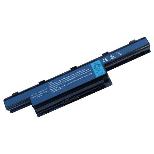 amsahr NE51B-02 Ersatz Batterie für Gateway NE51B, NE46R, NE56R, NE71B, NS41, NS41I schwarz (Ne71b Batterie Gateway)