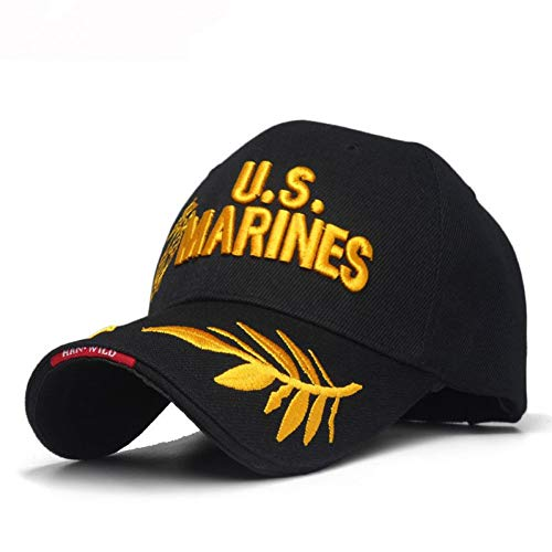 MAOZIJIE Us-Marines-Männer Der Männer Bestickte Ballkappe Usa Navy Tactical Hats Mütze Hut Einstellbare Navy Seal - Usa-mesh-hut