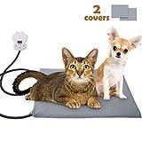 Sotical Heizdecke für Haustiere, Heizmatte Wärmematte Katzen & Hunde Wärmematte/Heizkissen/ für Thermomatte Umweltfreundliche Sicherheit Indoor Bett (Mittlerer(40 * 30cm))