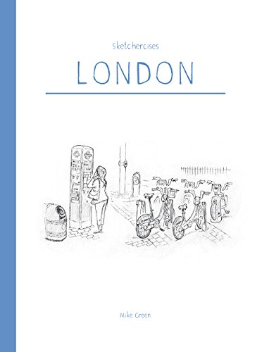 #freebooks – FREE kindle book Sketchercises London (only for today and boxing day). Over 300 illustrations of London, it's buildings and people.