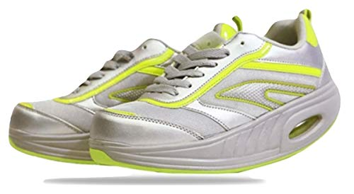 Fitness Step Grey/Yellow (36)