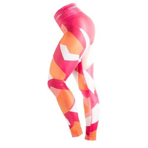 Legging - Icaniwill Leggings Camo Pink Orange