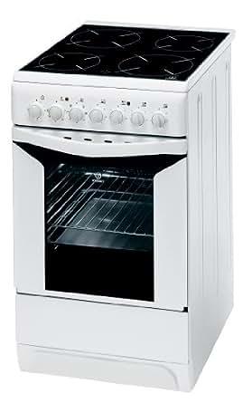 indesit k 3 c 51 w cuisini re electrique pose libre 50 cm classe b blanc gros. Black Bedroom Furniture Sets. Home Design Ideas