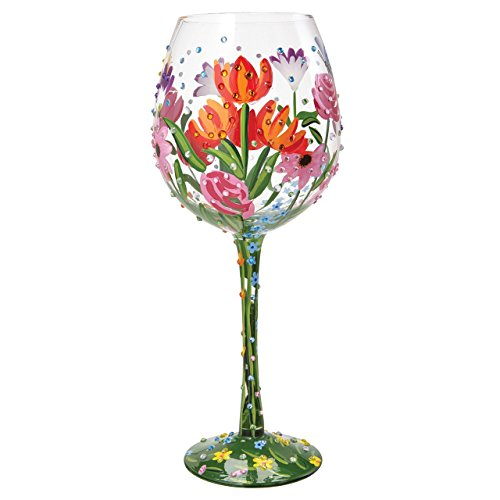 Unbekannt Lolita 4054100 Superbling Spring Extra Large Wine Glass, Glas, Mehrfarbig, 10 x 10 x 25.5...