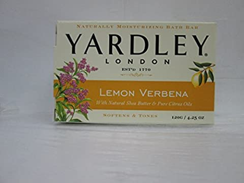 Yardley Lemon Verbena Bar Soap 4.25 Ounce by Yardley