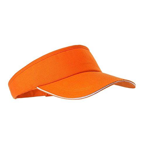 Leezo Unisex Erwachsene Golf Tennis Laufen Jogging Wandern Sport Outdoor Breiter Schirm Visor Cap Sonnenhüte 6 Farben