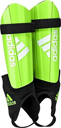Adidas AZ9857M Shin Guard, Boy's Medium (Soler Green/Black)