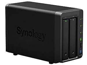 Synology DS214+ DiskStation NAS System