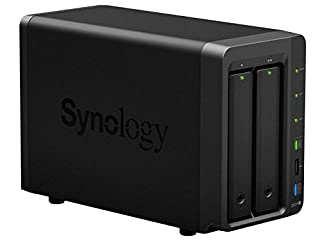 SYNOLOGY DS214+ - Servidor NAS de 8 TB (1.3 GHz, eSATA, 3 x USB), Negro (B00G6AX604) | Amazon price tracker / tracking, Amazon price history charts, Amazon price watches, Amazon price drop alerts
