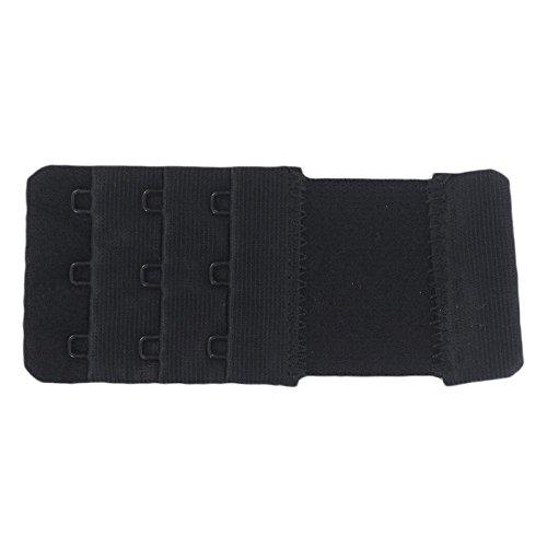 Prolunga elastico Dos di sostegno Gola 2ganci 4cm di larghezza Nero