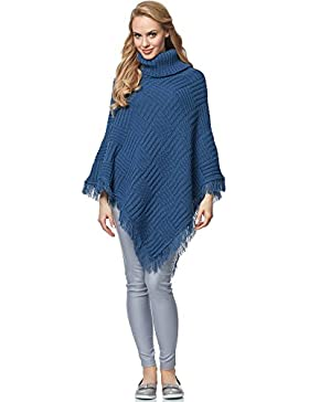 Merry Style Poncho para mujer MSSE0023