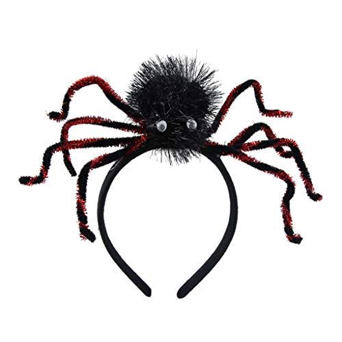 RuiruiNIE Niños Adultos Plástico 3D Fluffy Spider