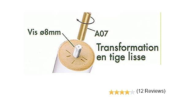 Meublepro Embout Lisse Pieds De Lit 10 Mm Lot De 4