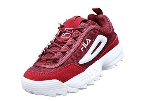 Fila Baskets Mode 1010438 Disruptor Rouge