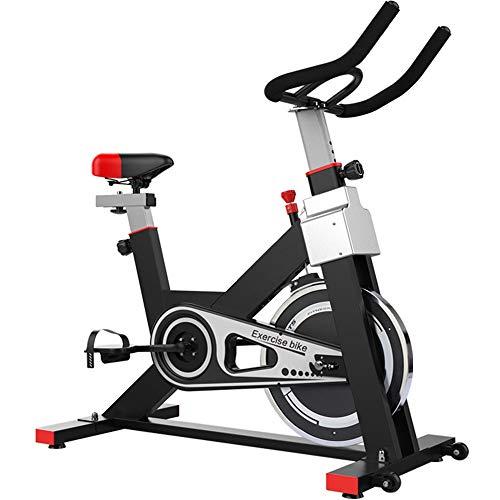 Yocobo Indoor Fahrrad Indoor-Advanced-Fahrradtrainer mit Trainingscomputer und Ellipsentrainer-Heimtrainer Herzfrequenzsensor