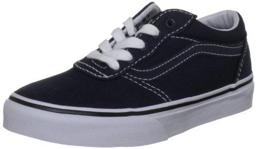 Vans Milton, Chaussures de Sport Unisexe-Enfant Bleu marine/gum