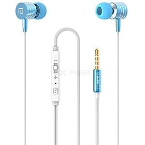 MU 100% Vorlage LANGSTON Metall Mega Bass In-Ear-Ohrhörer Kopfhörer für Samsung / Xiao mi / iphone / HTC / Lenovo / Huawei MP3 MP4, Blau