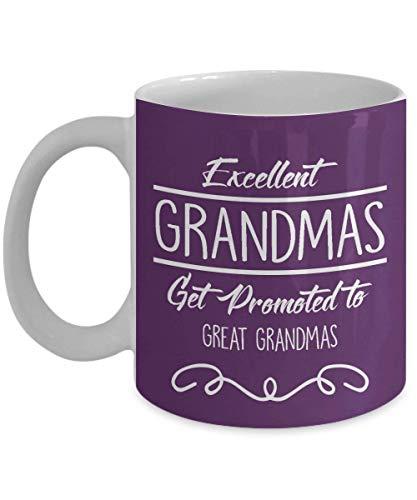 Excellentes grand-mères, faites la promotion de la méga tasse à café, drôle, tasse, thé,