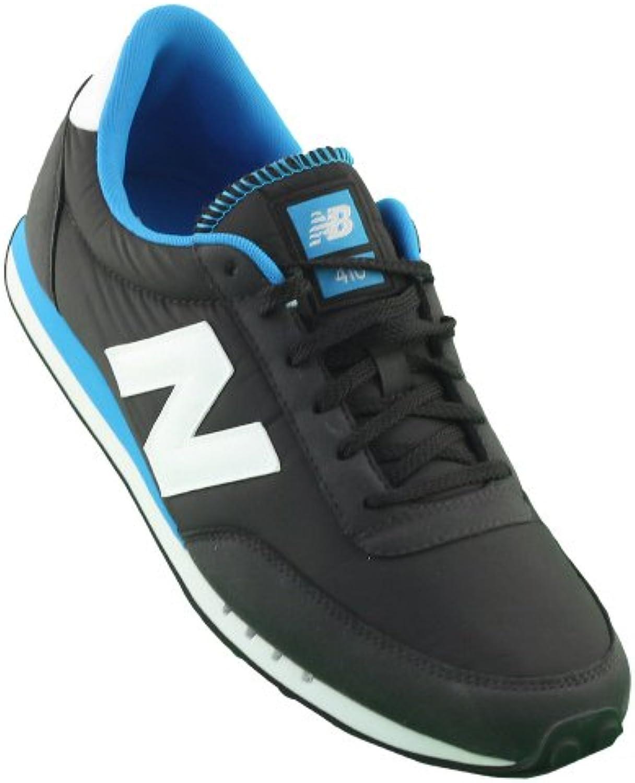 New Balance - U410KB - Color: Azul marino-Blanco - Size: 36.0