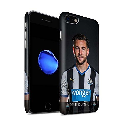 Officiel Newcastle United FC Coque / Clipser Matte Etui pour Apple iPhone 7 / Mbemba Design / NUFC Joueur Football 15/16 Collection Dummett