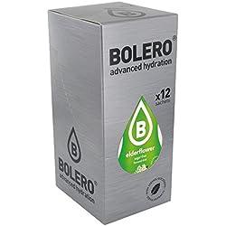 Bolero Classic Elderflower - Paquete de 12 x 9 gr - Total: 108 gr
