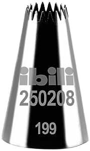 Ibili 250208 Douille de pâtisserie forme d'étoile Multi Branche 8 mm