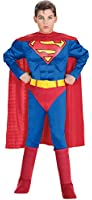 Superman - Muscle Chest Deluxe - Childrens Fancy Dress