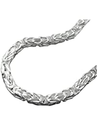 Halskette Kette 5mm Königskette 925 Sterling Silber 50cm 137002-50