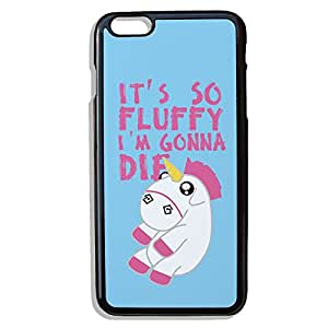 """Coque pour iPhone 6 Plus : Licorne Chibi Kawaii """" it's so fluffy i'm gonna die """"- Chamalow Shop"""