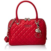 Guess Womens Satchel Bag, Red - VG766705