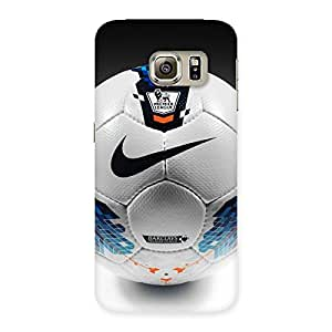 Soccer Multicolor Back Case Cover for Samsung Galaxy S6 Edge