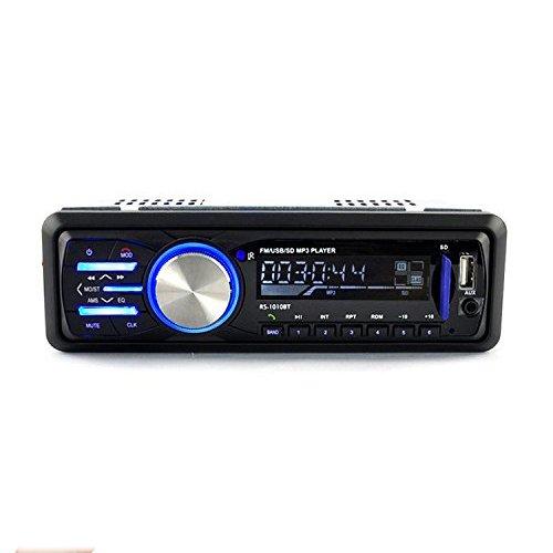 Radio de Coche, Rixow Autoradio Reproductor Estéreo Bluetooth de Coche, Apoyo de...