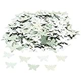 Confetti - Silver Butterflies by CSC Imports