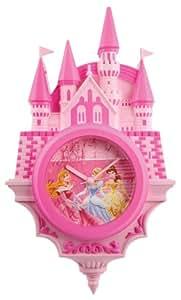 Wesco Disney Princess Horloge murale Château