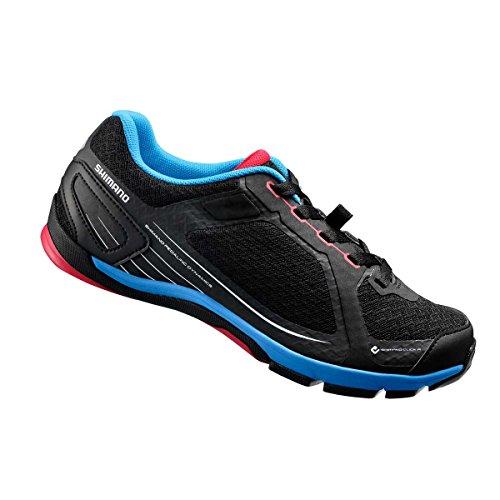 Shimano  SH-CW41, Chaussures de VTT adulte mixte Noir - Noir