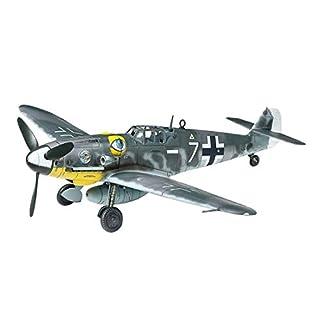 TAMIYA 60790 60790-1:72 Bf-109 G-6 Messerschmitt, Modellbau, Plastik Bausatz, unlackiert