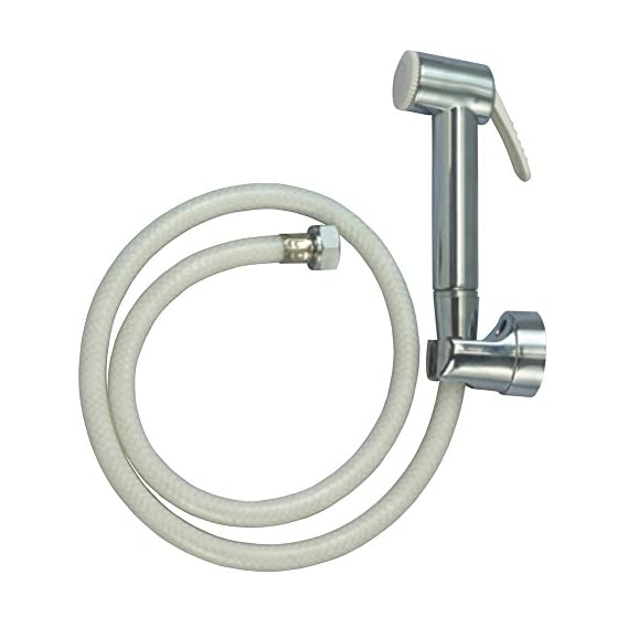 Cera F8030101 Health Faucet with ABS Body Wall Hook and 1-Meter PVC Hose Pipe