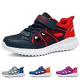 Baskets Garçon Chaussures de Sport Fille Été Sandales Enfants Respirant Chaussures de Running Chaussures de Trekking Légère Sneakers