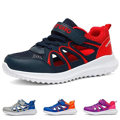 cebb39ca104a5 Baskets Garçon Chaussures de Sport Fille Été Sandales Enfants Respirant  Chaussures de Running Chaussures de Trekking