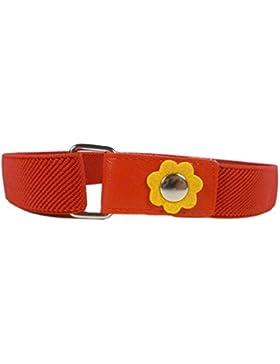 Elastischer Gürtel für Mädchen 1-6 Jahre, mit Blume Design