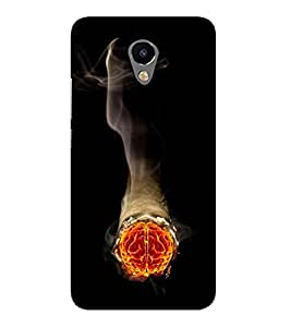 Takkloo Brain of man Brain of a woman,Smoking brain) Printed Designer Back Case Cover for Meizu M2