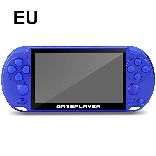 Liery 16G Handheld PSP-Spielekonsole Mit 5,1-Zoll-Bildschirm 128-Bit-Arcade Kids Nostalgic Game Player (Ps1 Tv Portable)