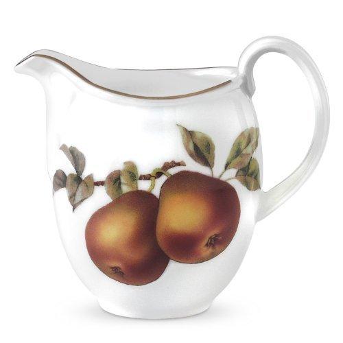 Royal Worcester Evesham Gold Porcelain Creamer by Royal Worcester Porcelain Creamer