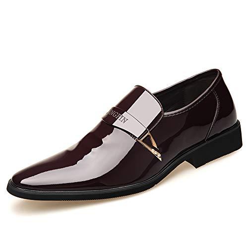 TTCXDP Zapatos De Cuero para Hombres