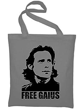 Free Gaius BSG Jutebeutel, Beutel, Stoffbeutel, Baumwolltasche